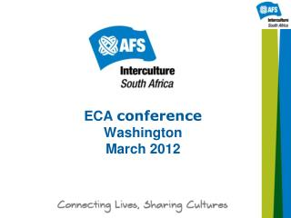 ECA  conference  Washington March 2012