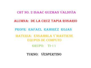 CBT NO. 2 ISAAC GUZMAN VALDIVIA