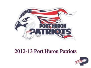 2012-13 Port Huron Patriots