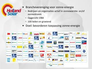Branchevereniging voor zonne-energie