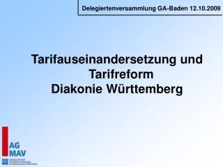 Tarifauseinandersetzung und Tarifreform  Diakonie W rttemberg