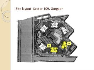 Site  layout- Sector  109, Gurgaon