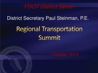 FDOT District Seven