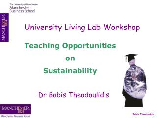 University Living Lab Workshop