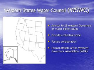 Western States Water Council  (WSWC)