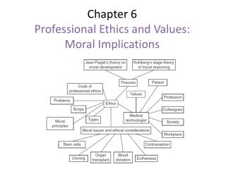 Chapter 6 Professional Ethics and Values: Moral Implications