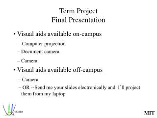 Term Project Final Presentation