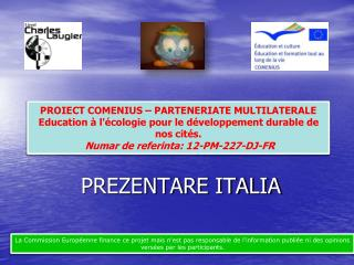 PREZENTARE ITALIA