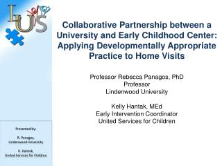 Collaborative  Partnership between a University and Early Childhood Center: