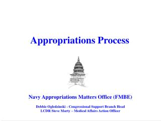 Appropriations Matters