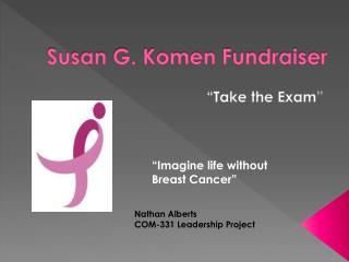 Susan G. Komen Fundraiser