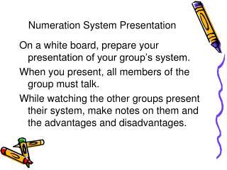 Numeration System Presentation