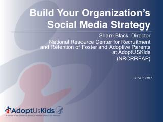 Build Your Organization's Social Media Strategy