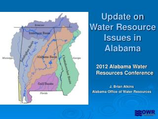 Update on Water Resource Issues in Alabama