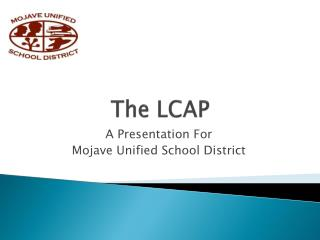 The LCAP