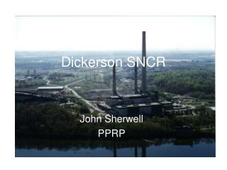 Dickerson SNCR