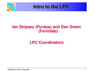 Intro to the LPC