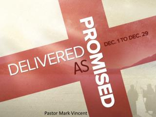 Pastor Mark Vincent