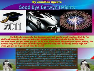 Good Bye Berwyn Heights