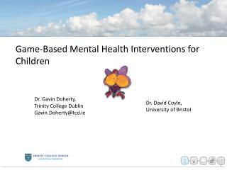 Game-Based Mental Health Interventions for Children