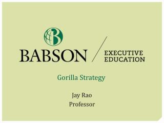 Gorilla Strategy