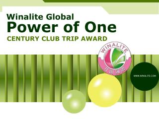 Winalite  Global Power of One