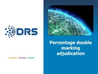 Percentage double marking adjudication