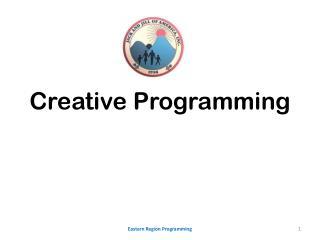 Creative Programming
