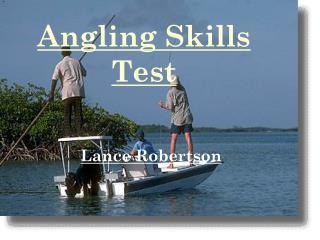 Angling Skills Test