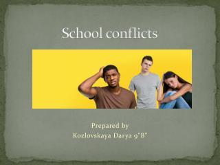 School conflicts