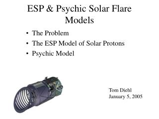 ESP  Psychic Solar Flare Models