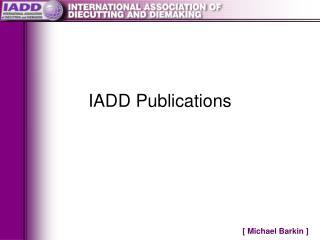 IADD Publications