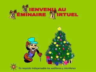 IENVENU AU ÉMINAIRE      IRTUEL