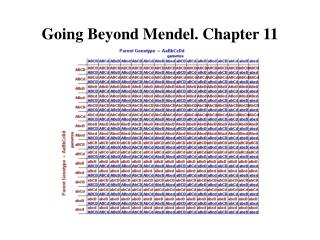 Going Beyond Mendel. Chapter 11