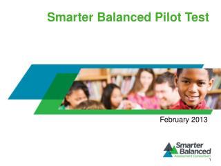 Smarter Balanced Pilot Test