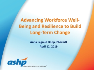 Building Resilience to sustain engagement and performance