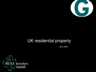 UK residential property Nov 2009