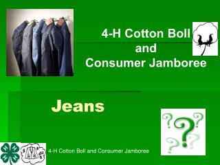 4-H Cotton Boll and Consumer Jamboree