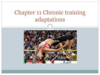 Chapter 11 Chronic training adaptations