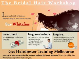 Get Hairdresser Training in Melbourne