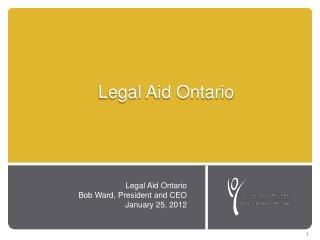 Legal  A id Ontario