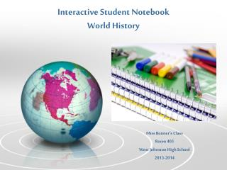 Interactive Student Notebook World History