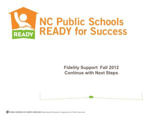 Fidelity Support  Fall 2012 Continue with Next Steps