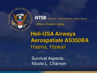 Heli-USA Airways Aerospatiale AS350BA Haena, Hawaii