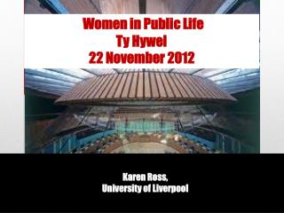 Karen Ross, University of Liverpool