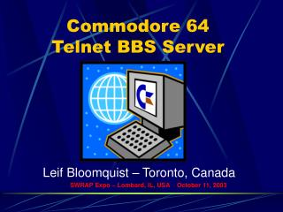 Commodore 64 Telnet BBS Server