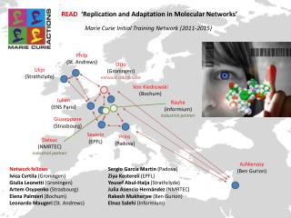 READ   'Replication and Adaptation in Molecular Networks'