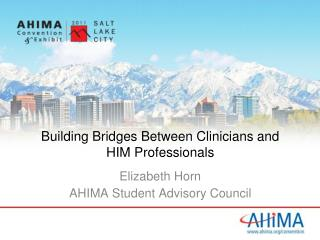 Building Bridges Between Clinicians and HIM Professionals