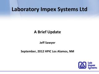 Laboratory Impex Systems Ltd
