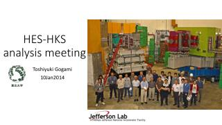 HES-HKS  analysis meeting